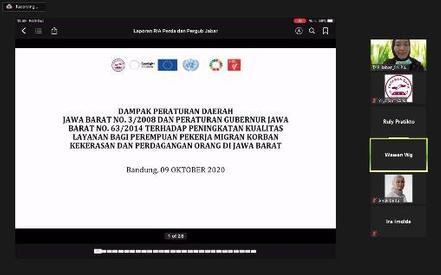 Yayasan SAPA Melakukan Konsultasi Riset dengan Dewan Eksekutif dan Tenaga Ahli Gubernur Jabar